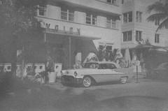 Avalon Hotel South Beach (Phillip Pessar) Tags: camera film beach analog 35mm movie florida zoom miami infinity south olympus x eastman tri expired 70 1953 sobe 5233