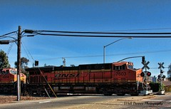 Trio of locomotives 7603_001 (Walt Barnes) Tags: railroad train canon eos engine rail richmond calif locomotive hdr bnsf topaz dieselelectric 60d canoneos60d topazadjust eos60d wdbones99
