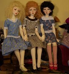 Best of Friends 2 (Xiaoli2004) Tags: anna lucy amy yo isabel bjd 13 lucille soi dollstown merrymegdoll