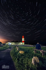 Souter Star Trail Selfie... (solidtext) Tags: lighthouse stars star south trails astrophotography southshields shields souter