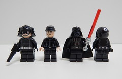 4 Fig Death Star (Johnny-boi) Tags: star dc lego rings wars minifigs figs minifigure