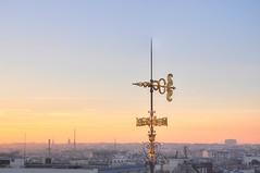 Golden weather vane (Sizun Eye) Tags: roof paris france golden weathervane printemps