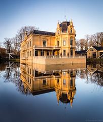 Borg Nienoord, Leek , Groningen (koos.dewit) Tags: water canon reflections borg groningen borgnienoord nienoord 6d spiegelingen 1740mml koosdewit