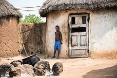 The doors of the other (stefano peppucci) Tags: africa boy hut ghana peolpe tamale mygearandme
