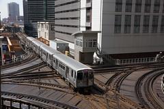 2014-04-19, Chicago, X Lake & Wells (Fototak) Tags: usa chicago illinois métro ubahn 5022 pinkline