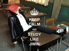 BTS (bangtan boys) (Nu'estrennie95) Tags: cute lol hard like study jimin kpop