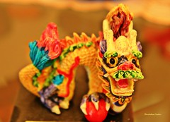 Chinese dragon (ChandrahaasCreation) Tags: life lighting camera city light color colors look animal contrast digital dark lens landscape lights design daylight colorful day different shine dragon close chinese culture cannon dhaka colourful dslr decorate showpiece