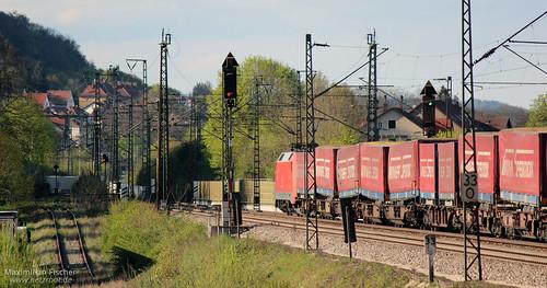 DB BR 152 119-4, Güterzug / Cargo train | [DE] Treuchtlingen | 20.04.2014