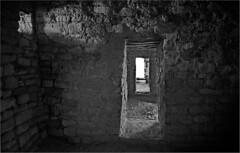 Looking Through Doorways (RiverBearPhoto) Tags: new monument architecture mexico photo ruins aztec pueblo jackson doorway leon national nm backroads doorways ancestral riverbear