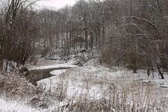 JENjudencreek (Jane Eleanor) Tags: ca trees winter snow weather conservation mo cana capegirardeau 2012 juden snowice judencreekca