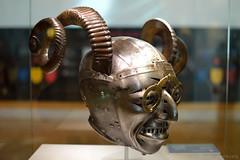 Armet - The Horned Helmet (1512) (Bri_J) Tags: royalarmouries leeds armour spectacles hornedhelmet helmet nikon d3200 kinghenryviii emperormaximiliani konradseusenhofer armet