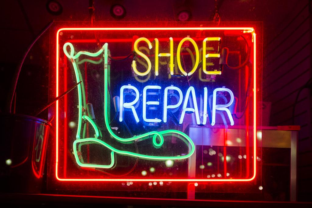 Shoe Repair Shoppers World