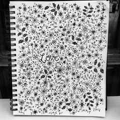 Love  finished!!  Few smudges though :) #papersky #handwriting #handwritten #picture #art #design #visual #font #type #cute #love #pretty #ink #pen #handmadefont (papersky.handwriting) Tags: flowers blackandwhite black cute art pen ink handwriting square design pretty squareformat inkwell handwritten cursive iphoneography instagramapp uploaded:by=instagram