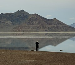 A Man In His Element (darkprince66 (Tug Chasing Super Hero :D)) Tags: mike utah friend photographer saltflats