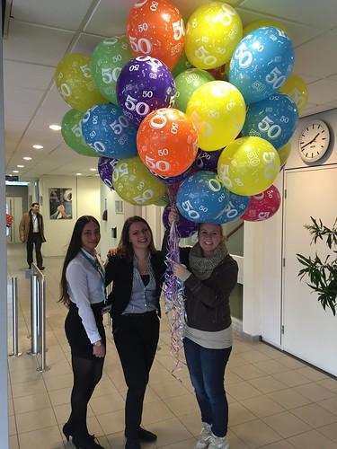 Heliumballonnen 50 Fokker Papendrecht