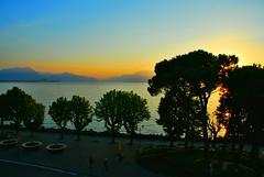 Lago di Garda (petrk747) Tags: voyage italy lake travelling nature sunrise landscape countryside lagodigarda saariysqualitypictures desenzanodelgardasunset