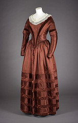 Red day dress (National Museums Scotland) Tags: red dress objects 18thcentury valentinesday nationalmuseumsscotland