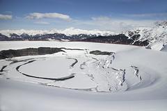 150216_009 (123_456) Tags: schnee snow ski france alps les trois de vacances three 2000 pierre sneeuw val snowboard neige frankrijk alpen savoie mgm et wintersport thorens esf valleys piste 3v menuires valle