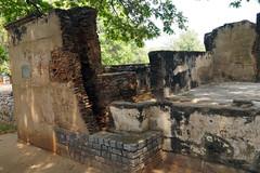 Collapsed Tippu Sultan's Palace, Srirangapatna - Karnataka, India (Akbar - Web Designer and Freelance Photographer) Tags: palace sultan tippu
