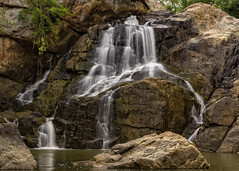 Sanaghagara Waterfall (sahudeepak) Tags: longexposure travel nature water canon landscape waterfall rocks outdoor smooth waterfalls orissa silky naturephotography landsacpes keonjhar odisha kendujhar kendujhargarh deepaksahu
