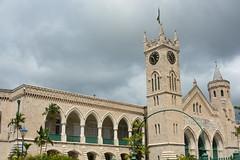 Barbados House of Parliment (vbvacruiser) Tags: cruise vacation clocktower barbados caribbean bridgetown parliment parlimenthouse silversea silverwind