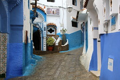 IMG_3691 (rachel_salay) Tags: city blue morocco chefchaouen