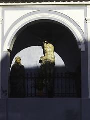(giovanibr) Tags: light shadow sun color architecture christ jesus chapel ceskykrumlov cezchrepublic