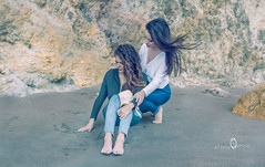 soporte (carloscazorla1) Tags: pareja amor playa arena amistad caricias apoyo