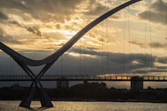 _DSC9788 (adam_reynolds) Tags: bridge sunset water river infinity stockton tees