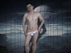 Sbastien - nouvelle srie (Iwokrama) Tags: shirtless photoshop sebastian bare torso youngman malemodel rve cauchemar univers