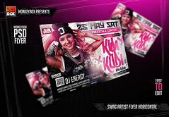 Swag Artist Flyer Horizontal (AndyDreamm) Tags: artist black city club dj friday fridays graffiti grunge hiphop money music night party rap rappers speakers street template texture underground urban whisky white