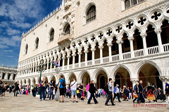 2204 (Bethie Inthesky) Tags: venice italy history architecture gothic palace tourist doge