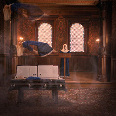 Helena-church (Roz B) Tags: photoshop fineartphotography brookeshaden