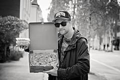 AntonPizza (RobT4L) Tags: portrait blackandwhite canon sweden ume pizza portrtt canon24105 canon7dmarkii canon7dmark2 antongun
