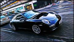 Fast Car (Billy McDonald) Tags: glasgow westend sportscar fastcar fractalius htconem8
