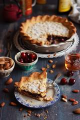 IMG_9998_exp (Helena / Rico sin Azcar) Tags: cherry frangipane tart hazelnut tarta cerezas almendras