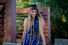 DSC_0317 (anniemanalo) Tags: california flowers blue nature floral dance education central graduation associates valley saturation graduate degree naturistic