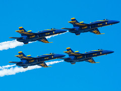 Blue Angels Pass (Rodrigo Montalvo Photography) Tags: ny plane airplane nikon aircraft aviation military airplanes navy jet longisland airshow planes blueangels usnavy f18hornet avgeek connecticutphotographer nikond7100 rodrigomontalvo nikon200500mmf56