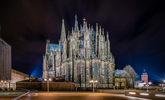 Klner Dom bei Nacht (Andys-eyecatcher) Tags: instagramapp nature art canon europe travel square photography flickr city new geo landscape cityscape detail uww me longtimeexposure night light kln
