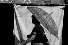 (RM Ampongan) Tags: city summer silhouette umbrella walking walk philippines heat sur bicol pinoy init payong camarines iriga manay tatak naglalakad