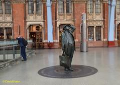 St Pancras Station (davidhann34016) Tags: station stpancras sirjohnbetjeman