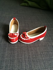 FS SD shoes (Uchan88) Tags: for sale bjd items outfits volks sunnys world unoa zero latea kikipop brown marmelade schoes kimono yukata doll msd yosd