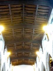 P1140028 St John the Baptist parish church - timber ceiling (londonconstant) Tags: peterborough cambridgeshire eastanglia streetscapes promenades cityofpeterborough londonconstant costilondra
