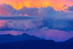 Ultra vivid Vibrations (Now 2 Eternity photography) Tags: pink blue light sunset wild orange mountain mountains color art love nature canon carson gold freedom golden energy colorful glow peace nevada vivid sierra east telephoto valley hippie wilderness sanctuary slopes vibrance seanhernandez optoutside now2eternity