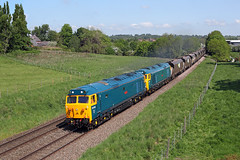 50050 + 50007 Whitchurch 24th May 2016 (John Eyres) Tags: ex for hall with pass storage donnington crewe coal whitchurch fearless hoppers hurcules rft basford freightliner 50007 50050 240516 4g50