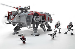 AT-TE01 (clebsmith) Tags: starwars lego walker
