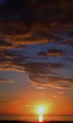 Scottish Coast Sunrise - Oxwelmains (Gilli8888) Tags: sunrise torness dunbar scotland coast coastline sun sea seaside clouds oxwellmains northsea scottishcoast