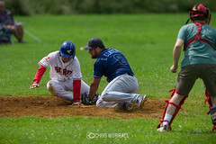 CN-6-16-2450 (Chris Worrall) Tags: chris chrisworrall competition competitor copyrightchrisworrall dramatic exciting photographychrisworrall power speed action baseball coldhamscommon hertshawks sport worrall 2016 june theenglishcraftsman cambridgemonarchs