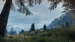 VOEC - 021 (Screenshotgraphy) Tags: sunset sky mountain lake game nature colors architecture clouds contrast montagne landscape pc screenshot lumire couleurs country lac ethan steam gaming ciel beaut carter concept nuages paysage vanishing campagne beautifull jeu naturelle urbain
