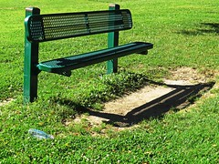 IMG_5339 (kennethkonica) Tags: life park light summer usa color green nature grass trash america canon leaf bottle midwest shadows bright random outdoor indianapolis magic indy indiana litter serenity serene pause moods global hoosiers canonpowershot marioncounty inthemoment plasticbench